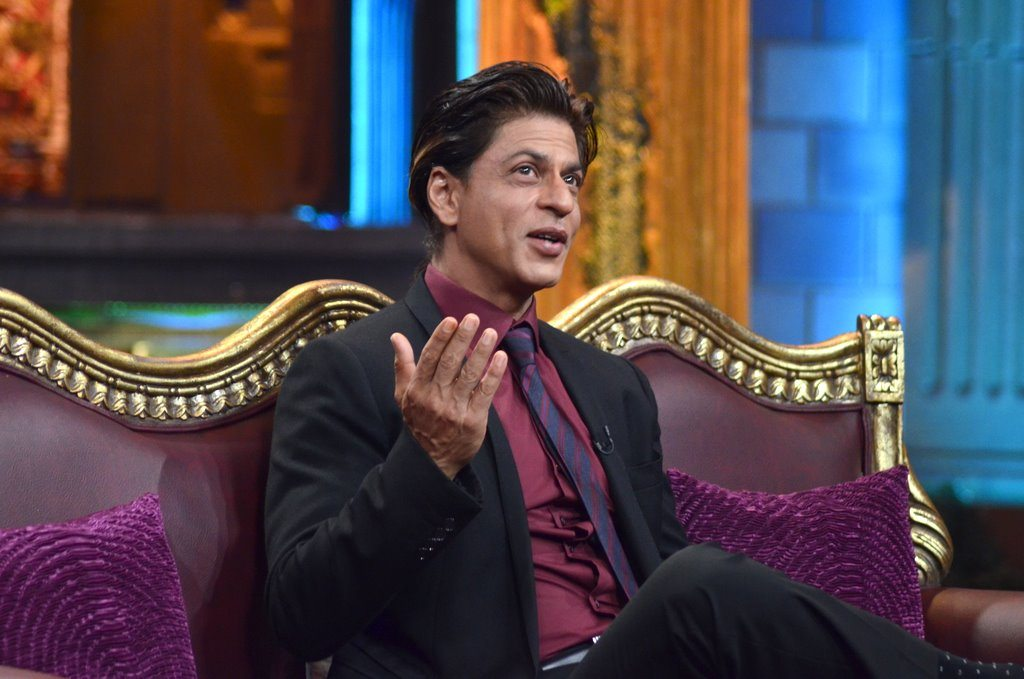 Shahrukh Khan on Anupam Kher
