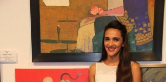 Tara Sharma, Madhoo and Shobhaa De attend Colours of Life Art exhibition