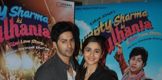 Varun Dhawana and Alia Bhatt promote Humpty Sharma Ki Dulhaniya at Filmcity