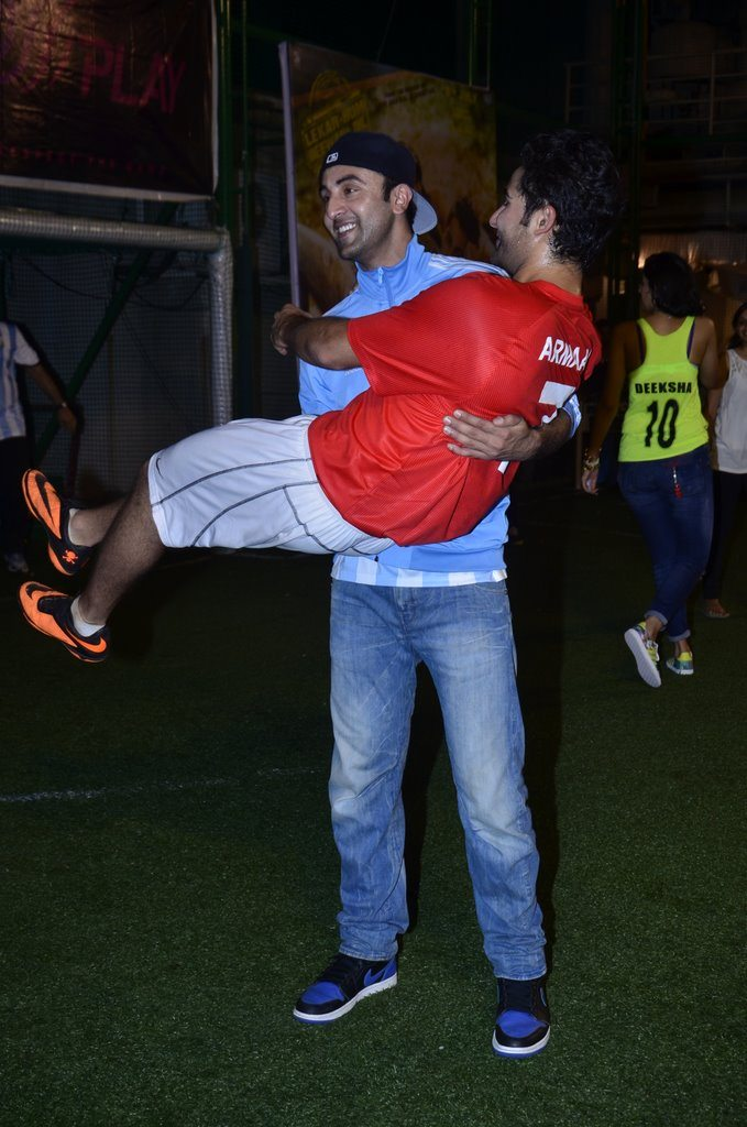 Ranbir Kapoor and Armaan Jain