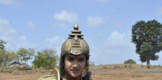 Faizal Khan snapped on Maharana Pratap shoot location