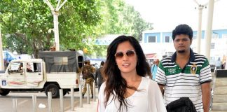 Richa Chadda on her way to Delhi