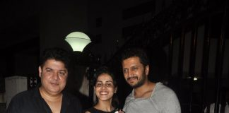 Riteish Deshmukh and Genelia D'souza at Tamannaah Bhatia's residence – Photos