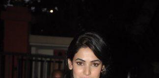 Sonal Chauhan attends Anju Modi's bridal wear preview