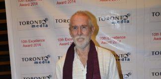 Tom Alter, Divya Khosla and Leslie Lewis at RK Excellence Awards
