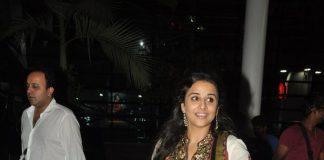 Vidya Balan snapped at airport after promoting Bobby Jasoos
