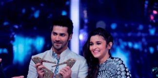Varun Dhawan and Alia Bhatt on Jhalak Dikhhla Jaa