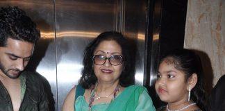 Leena Chandavarkar attends Baba Ambedkar Awards ceremony