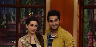 Armaan Jain and Karisma Kapoor appear on Comedy Nights With Kapil