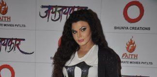 Rakhi Sawant unveils first look of Marathi movie Jay Jaykar  – Photos
