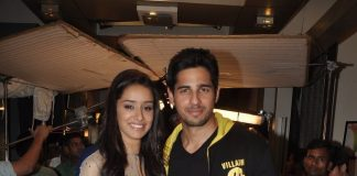 Shraddha Kapoor and Sidharth Malhotra on sets of Yeh Hai Mohabattein