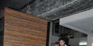 Hrithik Roshan and Kunal Kapoor at Aamir Khan's special dinner party