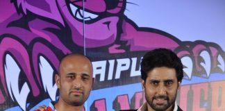 Abhishek Bachchan introduces his Kabaddi team Jaipur Pink Panthers