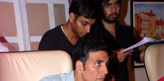Akshay Kumar promotes Entertainment on TV show