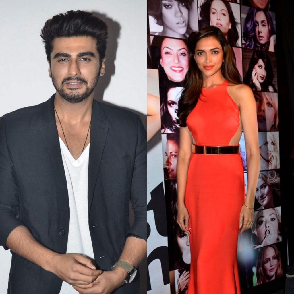 Arjun Kapoor and Deepika Padukone