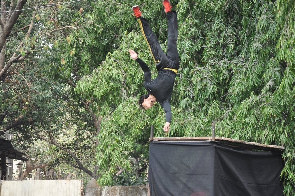 heropanti tiger stunts 1