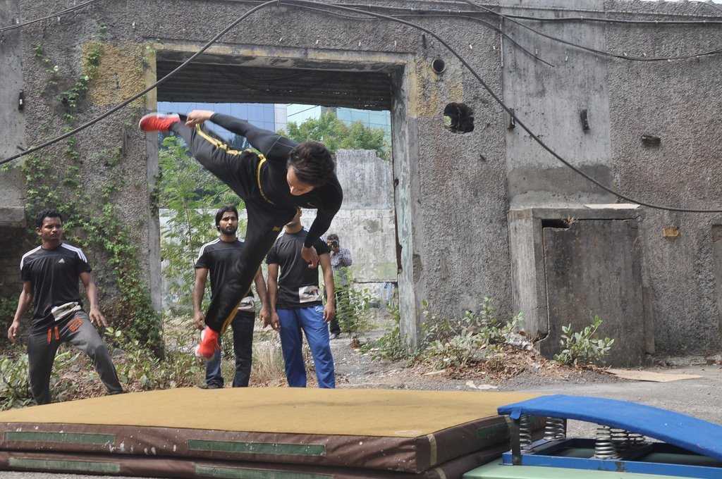 Heropanti stunts 3
