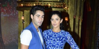 Armaan Jain and Deeksha Seth promote LHDD on TV