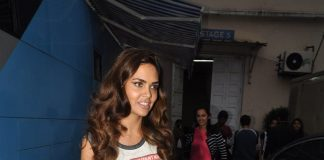 Esha Gupta busy has a busy on sets