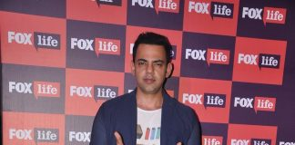 Rajeev Khandelwal, Gul Panag and Manish Paul at Fox Life India launch event