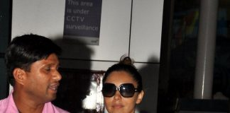 Gauri Khan on a busy day at airport