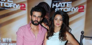 Jay Bhanushali and Surveeen Chawla at Hate Story 2 press conference