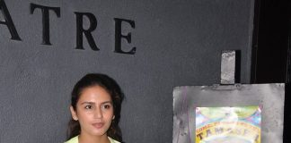 Huma Qureshi interacts with audiences at Thespo 16