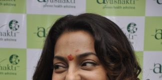 Juhi Chawla at Ayushshakti event