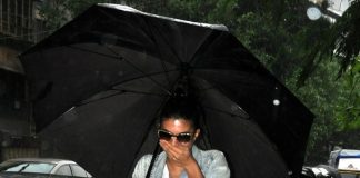 Jacqueline Fernandez revels in the rain