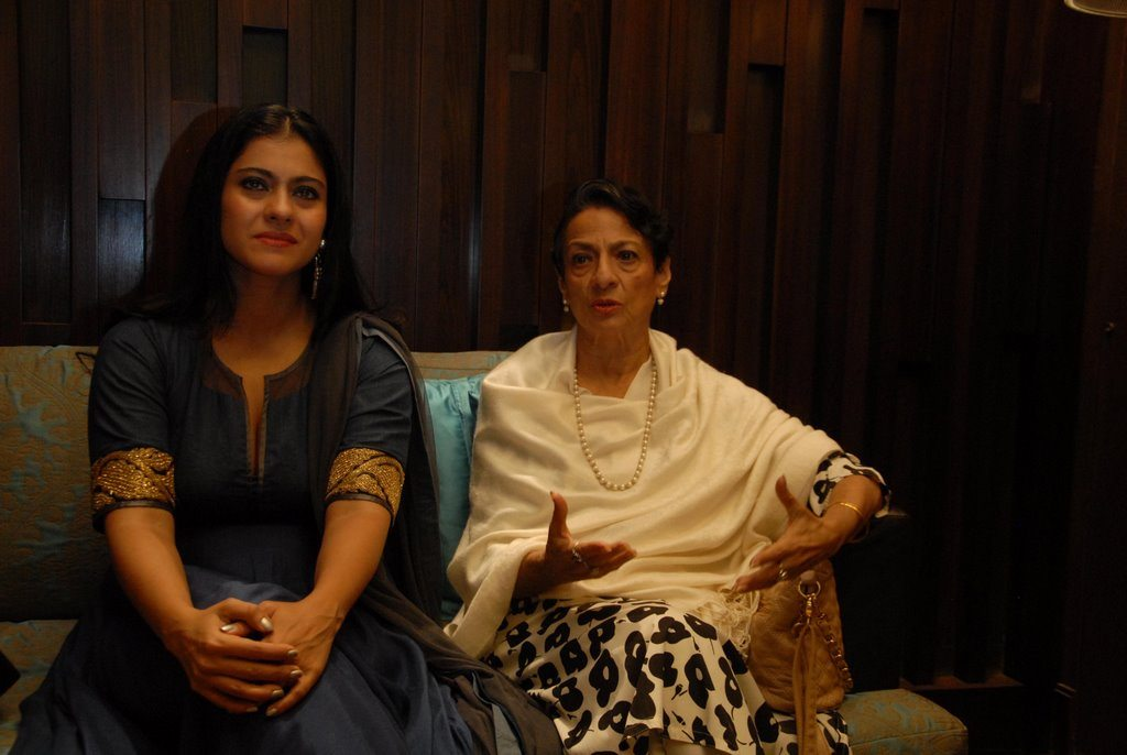 Kajol and tanuja (2)