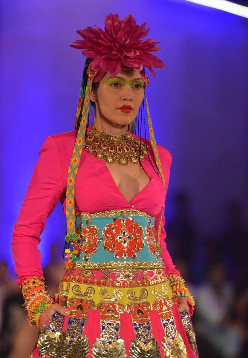 manish arora india kaleidoscope couture week collection bollywoodgaram