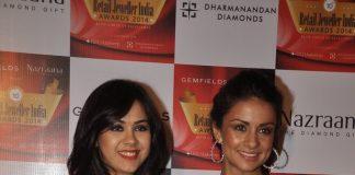 Yami Gautam and Gul Panag at Gemfields and Nazraana Retail Jewellers India Awards – Photos