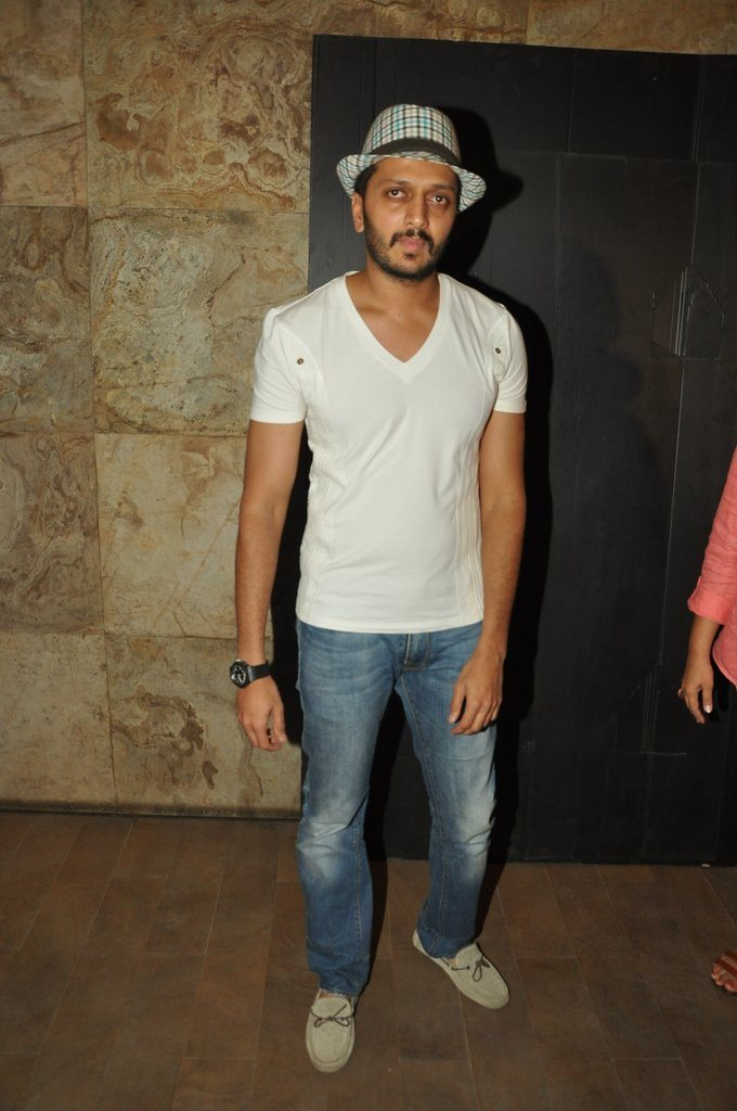 Riteish screening (6)