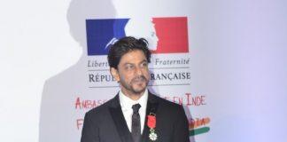 Shahrukh Khan receives Knight of the Legion of Honor
