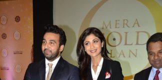 Shilpa Shetty and Raj Kundra at Satyug Gold launch event