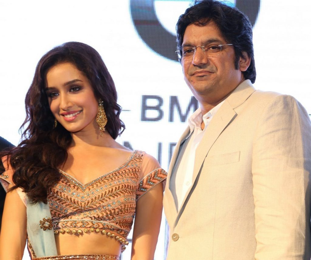 Shraddha Kapoor and Mr. Vipin Sharma, Director, Jewellery, World Gold Council at IBFW Press Conference