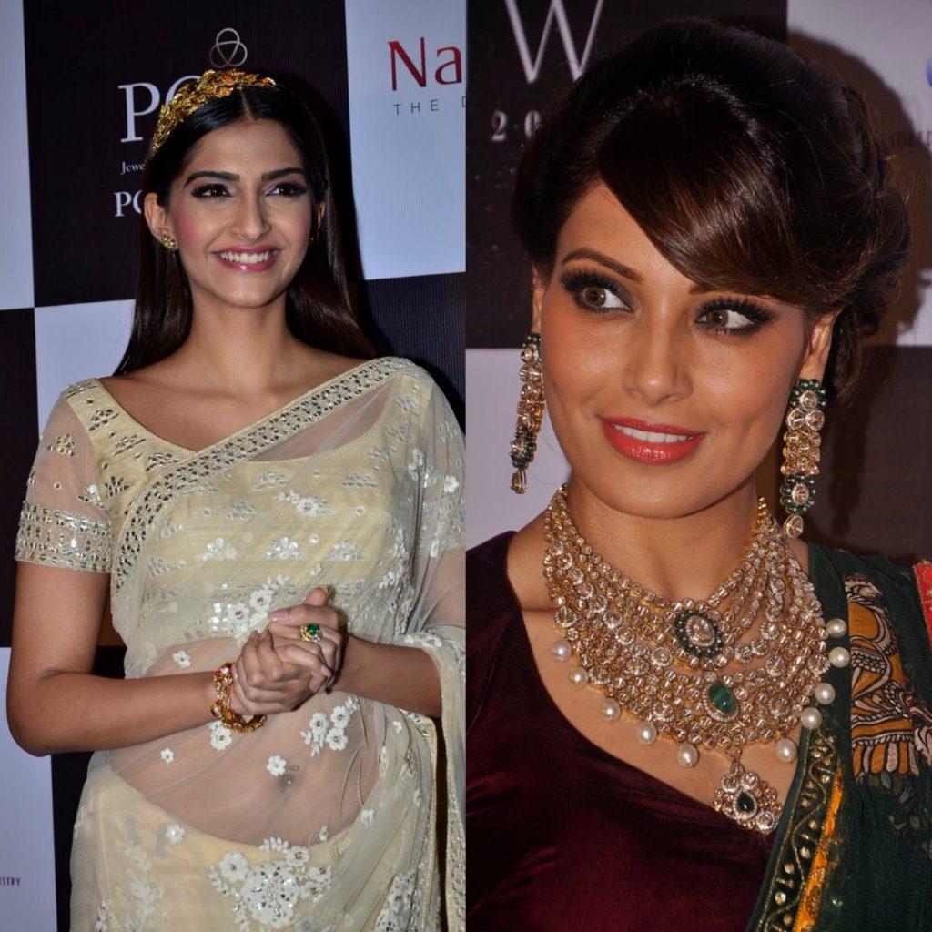 Sonam Kapoor and Bipasha Basu