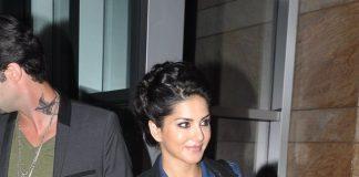 Sunny Leone and husband Daniel Weber on a date