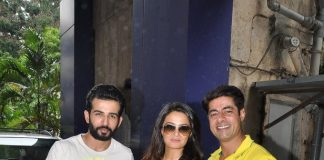 Surveen Chawla, Jay Bhanushali and Sushant Singh promote Hate Story 2