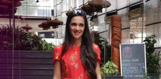 Tara Sharma attends NDTV Save Our Tigers Campaign
