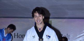Tiger Shroff honored with 5th degree black belt by Taekwondo association