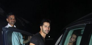 Varun Dhawan chills at Café Mangii