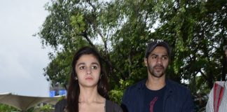 Varun Dhawan and Alia Bhatt off to Hyderabad for HSKD promotions – Photos