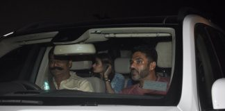Athiya Shetty attends Kick screening with celebs