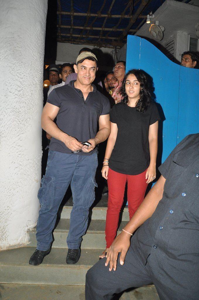 Aamir Khan ira khan (1)