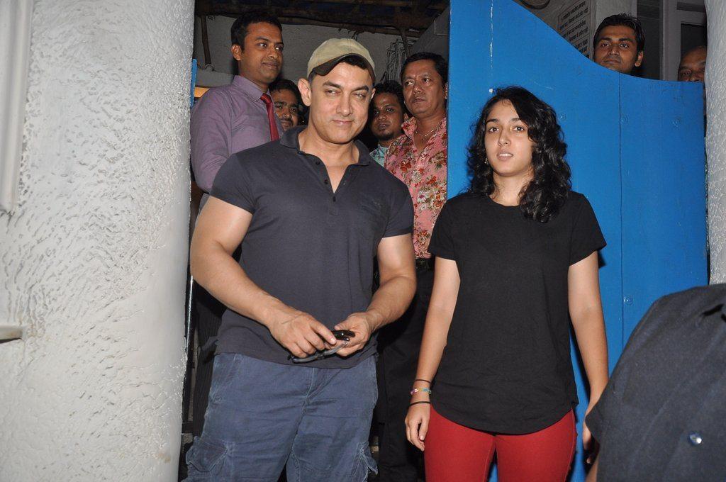 Aamir Khan ira khan (2)