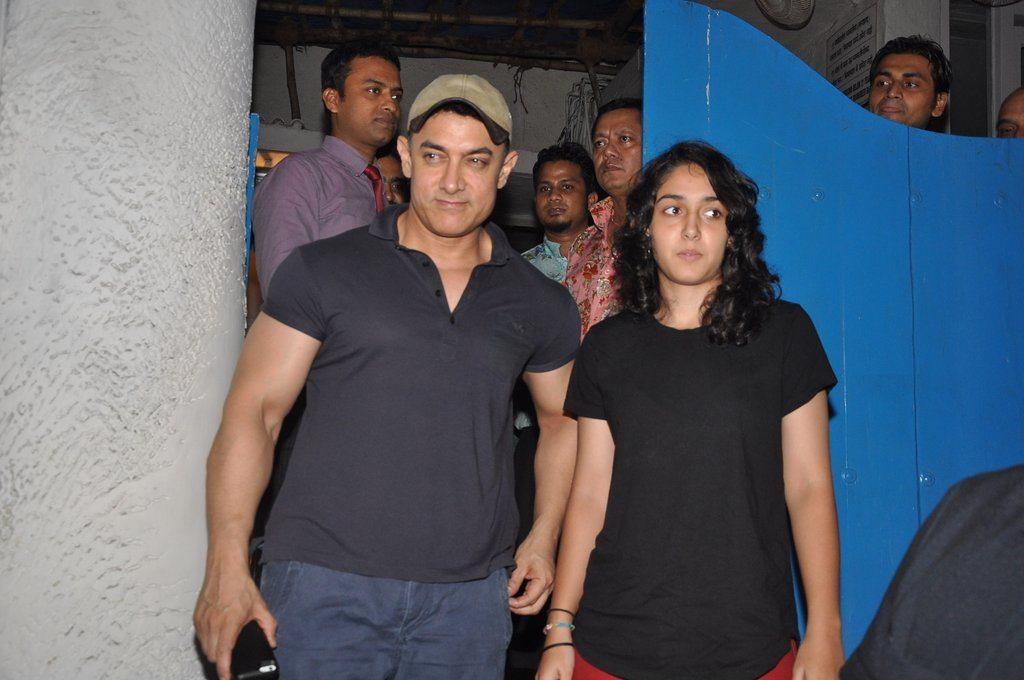 Aamir Khan ira khan (3)