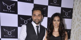 Abhay Deol, Preeti Desai and Shriya Saran at Bare In Black event
