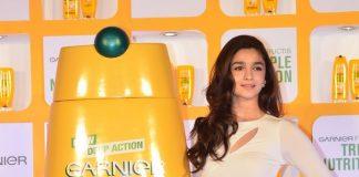 Alia Bhatt launches Garnier Fructis nutrition product