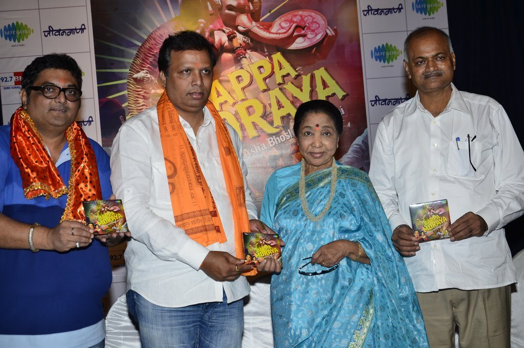 Asha Bhonsle album launch (1)